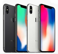 Apple iPhone X 64GB 256GB Factory GSM Unlocked AT&T T-Mobile Metro Smartphone