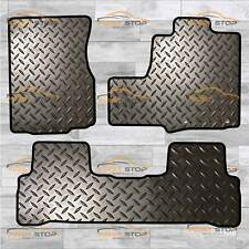 HONDA CR-V 2006-2012 3 PCE WITH CLIPS TAILORED 3MM RUBBER HEAVY DUTY FLOOR MATS