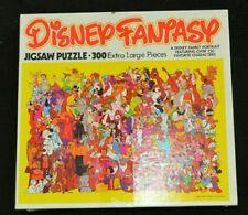 Vintage 1981 Disney Fantasy Jigsaw Puzzle 300 Extra Large Pieces - Complete