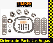 "Timken Master Bearing Overhaul Rebuild Kit GM 7.5"" 10 Bolt 1982-99 10 Bolt Cover"