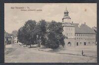 39747) AK Bad Tennstedt Rathaus 1914 bei Bad Langensalza