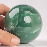 446g 68mm Large Natural Green Aventurine Sphere Quartz Crystal Healing Ball