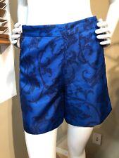 Banana Republic Blue Floral Shorts Size 0