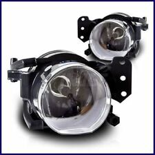 2004-2007 BMW E60 5 SERIES OEM REPLACEMENT FRONT FOG LIGHTS LAMPS CLEAR PAIR SET
