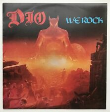 DIO - WE ROCK 12 inch - superb NM