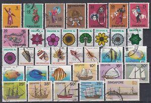 968 Singapur Lot gestempelt (329)