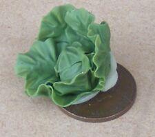 1 12 Scale Untrimmed Cabbage Vegetable Dolls House Garden Kitchen