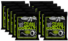 12 SETS Pack Ernie Ball Cobalt Power Slinky 2721 Electric Guitar Strings 10-46