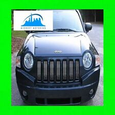 2007-2013 JEEP COMPASS CHROME GRILLE TRIM 07 08 09 10 11 12 13