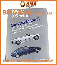NEW E36 3 Series BMW Bentley Repair Manual M3,318,323,325 & 328 B398 / BM8000398