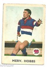 1965 Scanlens (3) Merv HOBBS Footscray Vg.