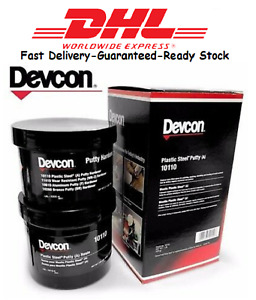 DEVCON 10110 PLASTIC STEEL PUTTY (A) 1 lb. Kit metal filled epoxy