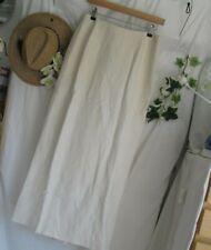 KALIKO  Elegant Silk Linen SKIRT  - 12 -  Length 38 ins
