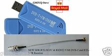 NEW SDR RTL2832U & R820T2 USB DVB-T and RTL-SDR Receiver 25-1700 MHz
