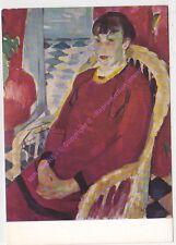 CP ART TABLEAU RIK WOUTERS Woman in red