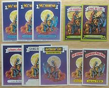Garbage Pail Kids Rainbow Dead Tead/Jay Decay/Creepy Terry Character Collection