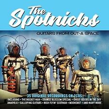 SPOTNICKS - GUITARS FROM OUT-A SPACE  2 CD NEW+