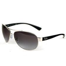 Ray-Ban Aviator Argento & Nero Occhiali da sole con lenti grigie, RB3386 003 / 8G