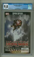Invincible Iron Man 11 (CGC 9.8) White pages; War Machine appearance (c#23643)