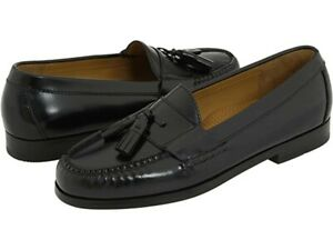 Cole Haan Black Tassel Loafers Mens Size 10.5 org price $160