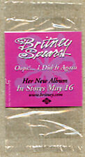 BRITNEY SPEARS Oops I Did It Again 2000 promo temporary TATTOO new sealed