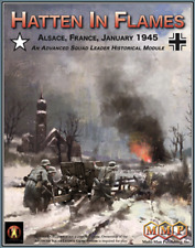 ASL Hatten In Flames: Alsace France January 1945 MMP Advanced Squad Leader NISW