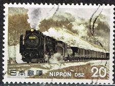 Japan Railroad Train Locomotive stamp 1977