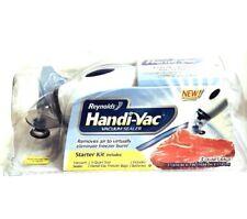 Reynolds Handi-Vac Food Sealer Vacuum Starter Kit New
