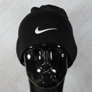 Nike Team Performance Black Beanie Hat (CMA27) RRP £17.99