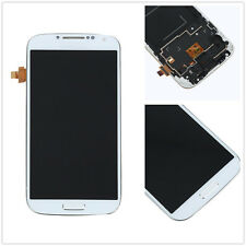 White Touch Screen Glass Digitizer LCD Display frame For Samsung Galaxy S4 I9505