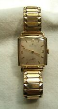 HAMILTON 10K GOLD FILLED WRIST WATCH STAINLESS BACK CAL 730