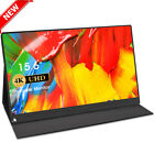 UPERFECT 15.6 inch 4K 3840x2160 HDR IPS Ultra Slim Portable Monitor &HD Input US