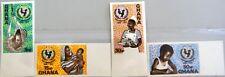 GHANA 1971 446-49 B 436-439 IMPERF UNICEF Kinderhilfswerk Child Charity MNH