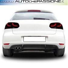 Estrattore sotto paraurti in ABS per VW Golf 6 dal 2008>2012 R-look