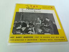 """LOS T.N.T. """"EN EL RENDER-VOUS DEL CASTELLANA HILTON"""" 7"""" SPANISH EP BE/A G/A 1962"""