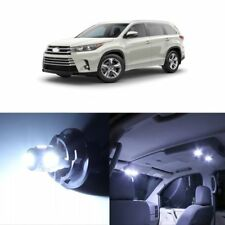 Toyota Kluger 2014-2018 White Interior LED Light Upgrade Kit all color available