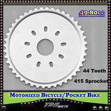 44 Teeth 415  Sprocket Chain 2 Stroke 49/66/70/80cc Motorized Push Bikes Bicycle
