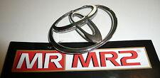 Toyota MR2 MK2 Front Bumper Nose Cone Badge - Mr MR2 Used Parts 1989-1999