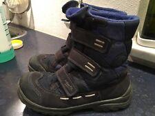Superfit Schuhe Winterschuhe Stiefel Blau 35