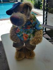 "Collectable Bear from Bear Essentials - ""Oh Josh"" The Urban Bear Mohair Hawaiian"