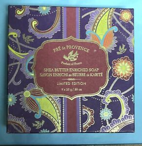 Pre de Provence Shea Butter Enriched Soaps LIMITED EDITION product of France NEW
