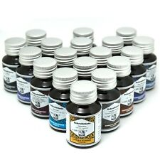 Rohrer & Klingner   Schreibtinte für Füllhalter   50ml Tinte im Glas   18 Farben