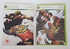 Street Fighter IV 4 (Microsoft Xbox 360, 2008) PAL