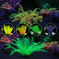 Soft Fake Aquarium Coral Plant Underwater Ornament Artificial Plastic Fish Tank