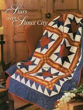 Stars Over Sioux City Quilt Pattern Pieced HH