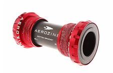 Aerozine BB-08-RD Road Cyclocross CX Ride Bottom Bracket BB Ceramic Bearing Red