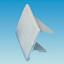 Replacement Cover Flap & Pins for External Gas BBQ Point - White