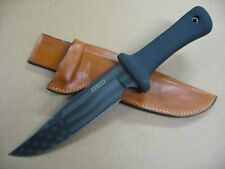 Scrap Yard Knife Company Regulator Knife Custom Molded Leather Sheath TAN USA