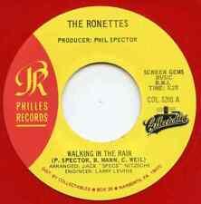 RONETTES ~ WALKING IN THE RAIN -- RED VINYL 45 -- '64 / '65 PHILLES