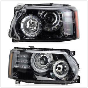 For Land Rover Range Rover Sport L320 Front LED XENON Headlight 2PCS US